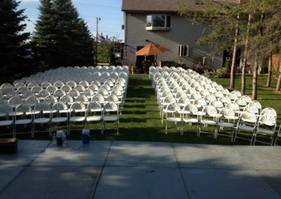 Wisconsin party rental companies, Wisconsin chair rentals, Wisconsin table rentals, fox valley, appleton chair rentals,oshkosh chair rental