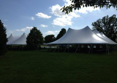 Wedding Reception Party Tent, Appleton chair rentals, Appleton table rentals, Appleton stage rental